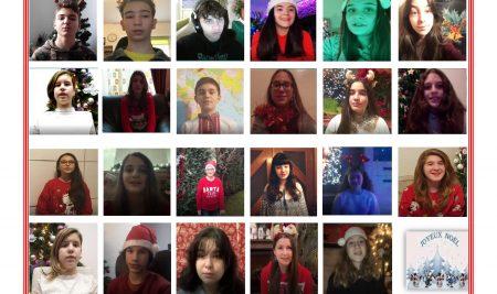 Proiect Erasmus – Mesaje de Crăciun